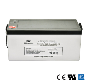 12V 270AH zyklenfest USV Gel Batterie UPS Power Backup
