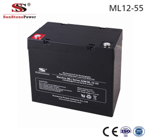 Sunstone Power 12V 55AH AGM Solarbatterie Sealed Lead Acid Battery