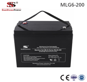 Sunstone Power 6 Volt Deep Cycle Battery Solar Gelbatterie 6V 200AH