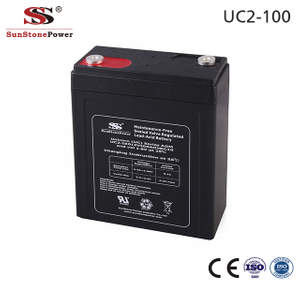 Sunstone Power AGM Lead Acid Battery 2V 100AH Ersatz USV Batterie